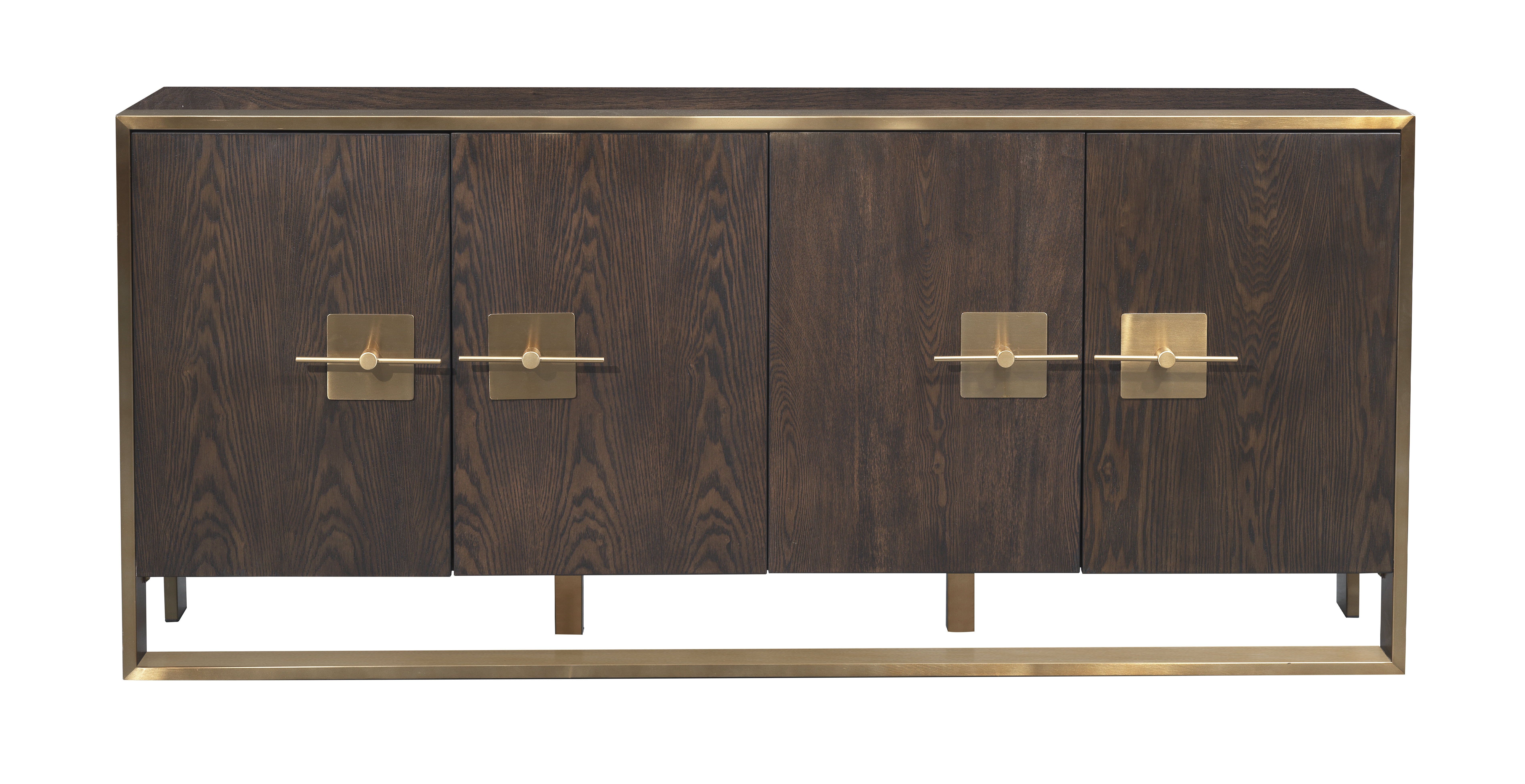 Sandisfield Media Credenza Throughout Simple Living Layla Black Buffets (View 7 of 20)