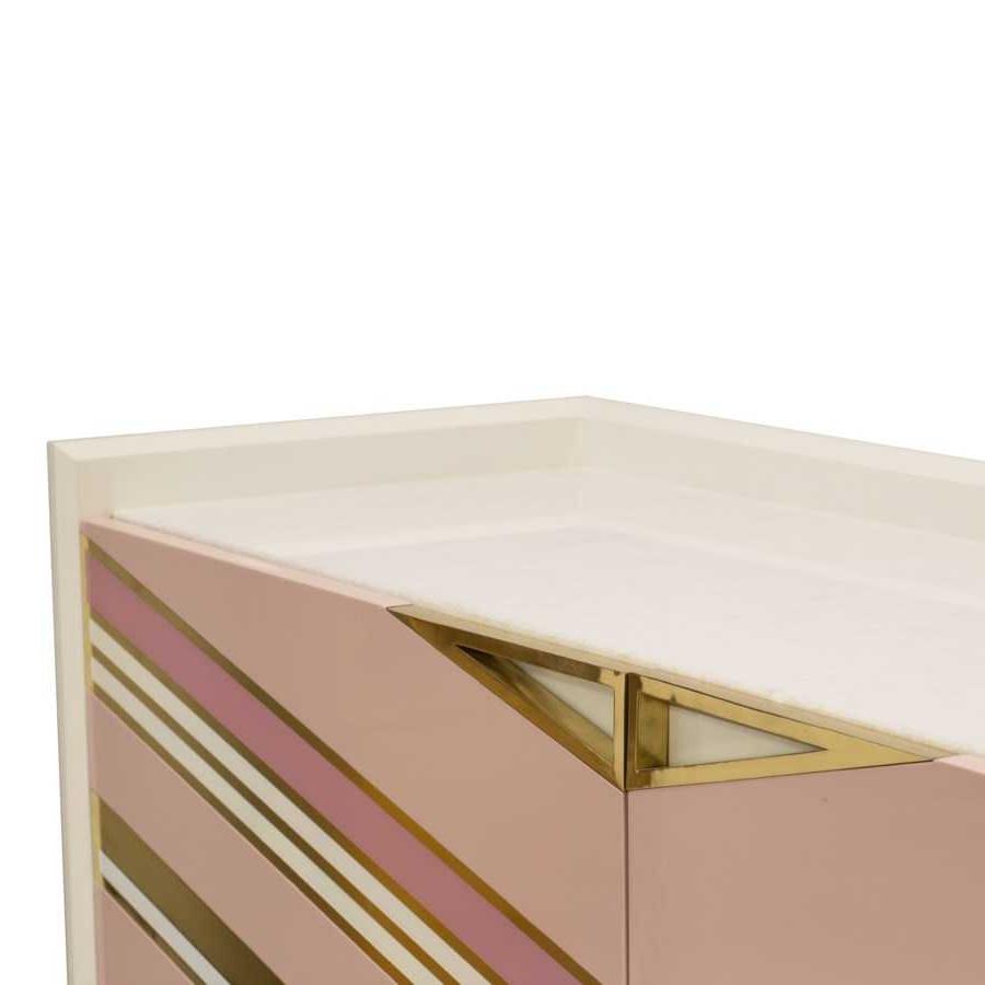 Selamat Morgan Credenza – Blush With Blush Deco Credenzas (View 18 of 20)