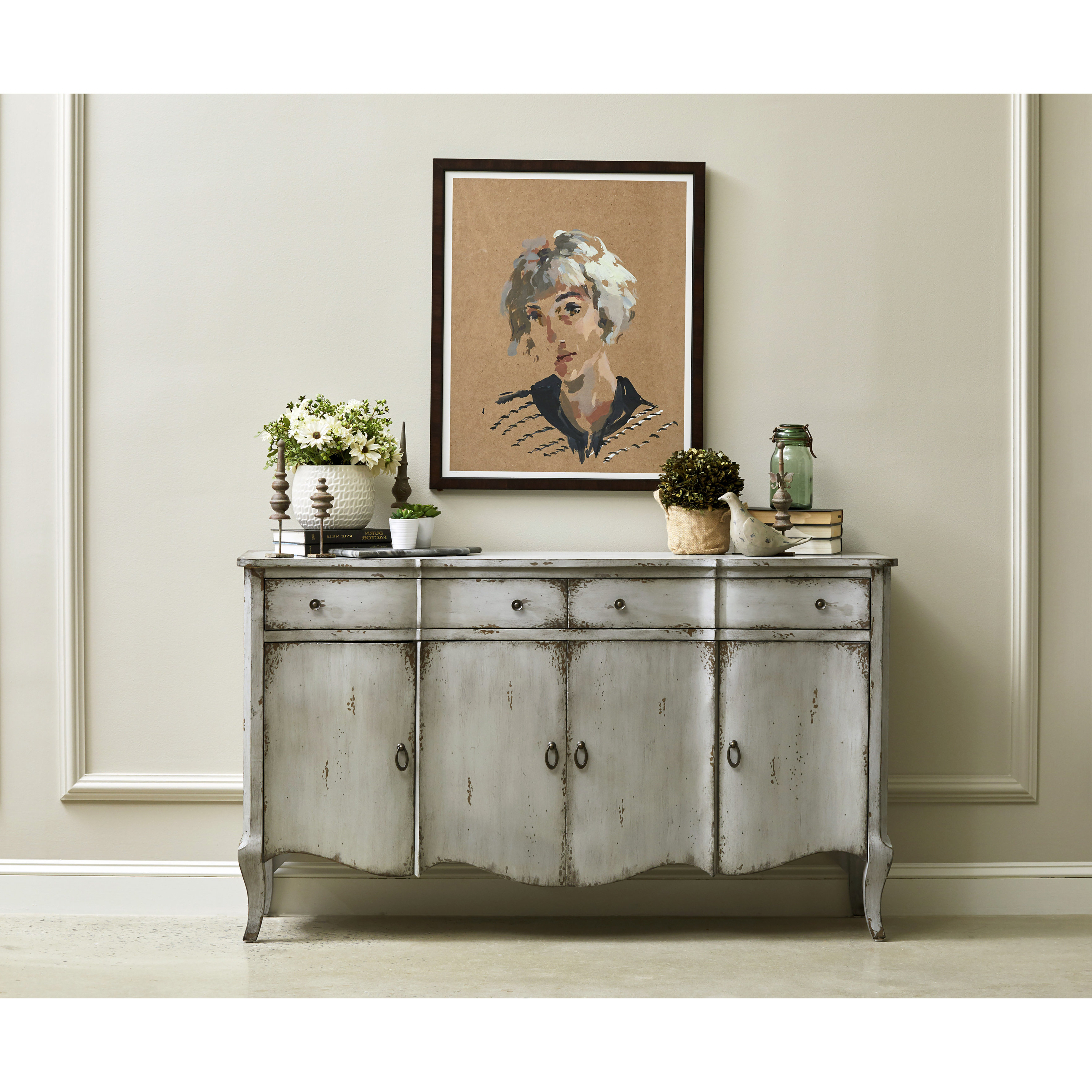 Shallow Depth Credenza | Wayfair In Floral Beauty Credenzas (View 20 of 20)