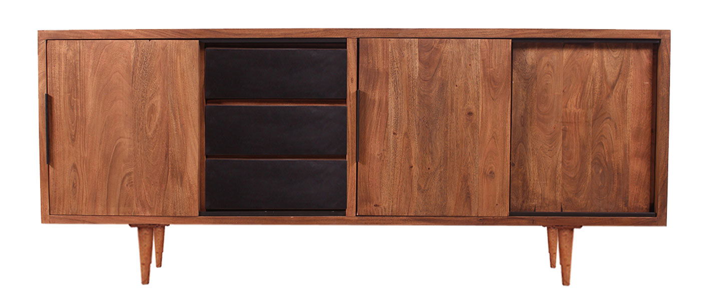 Sideboard Mid Century 1 Regarding Mid Century Brown Sideboards (View 13 of 20)