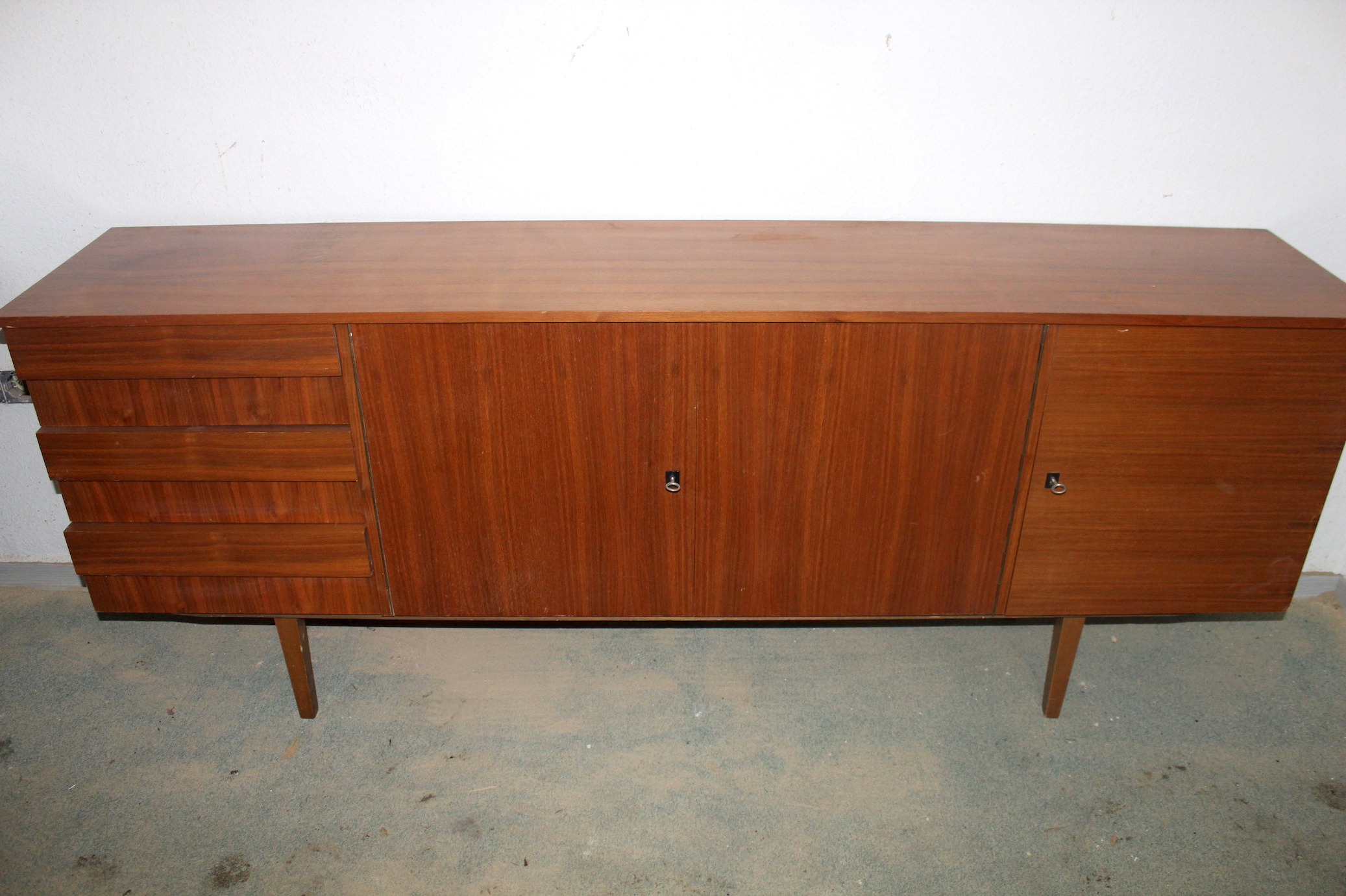 Sideboard | Mid Century | Vintage Intended For Mid Century Brown And Grey Sideboards (View 13 of 20)
