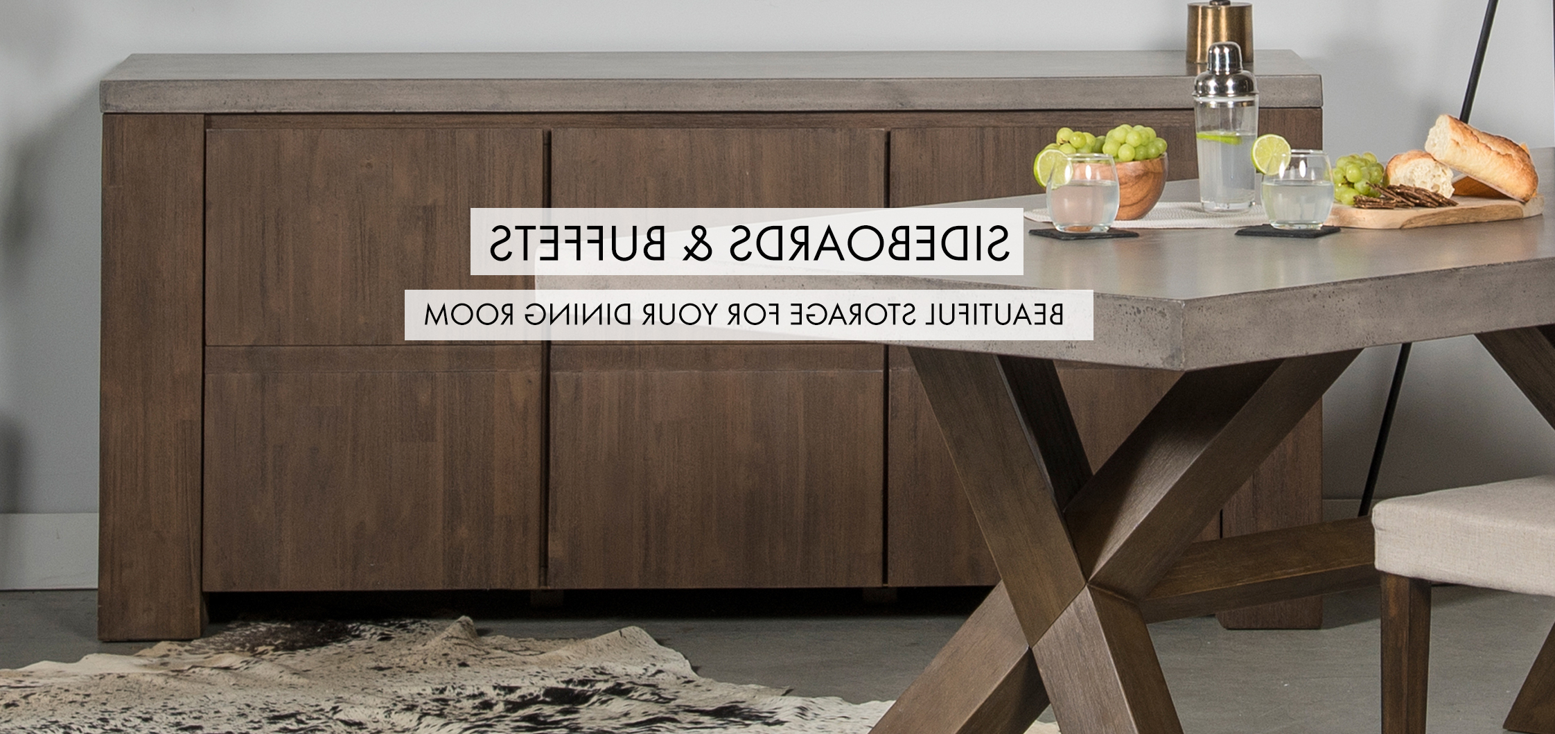 Sideboards & Buffets | Muse And Merchant In Grey Wooden Accent Buffets (View 20 of 20)