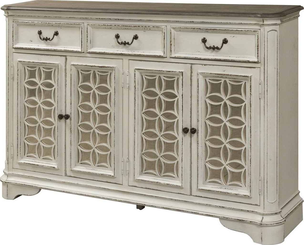 Simple Living Antique White Kendall Buffet Free Shipping Inside Simple Living Antique White Kendall Buffets (View 12 of 20)