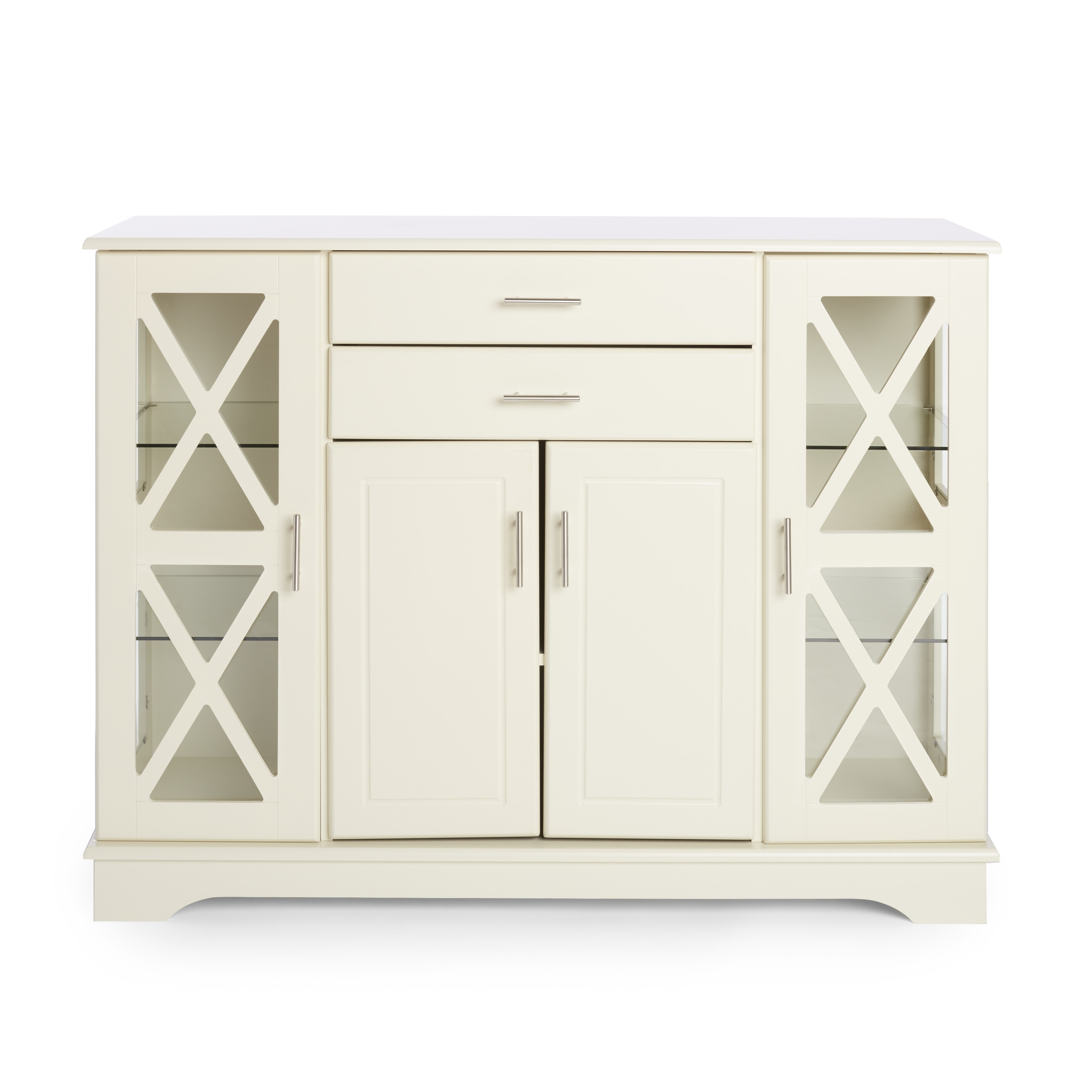 Simple Living Antique White Kendall Buffet Inside Simple Living Antique White Kendall Buffets (View 10 of 20)