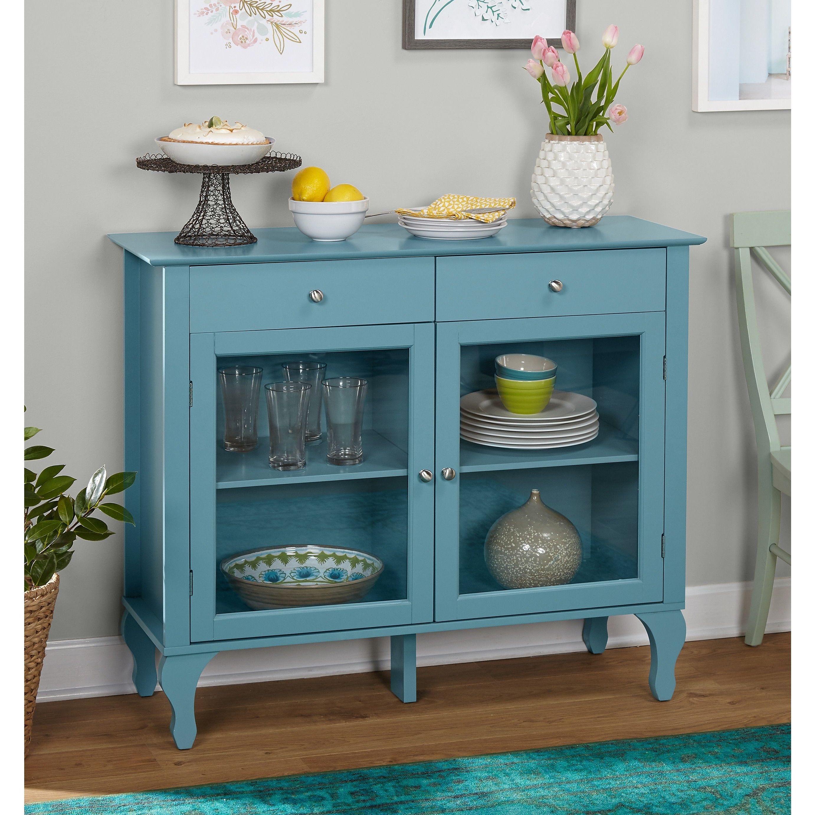 Simple Living Layla Antique Buffet In Simple Living Layla Black Buffets (View 10 of 20)