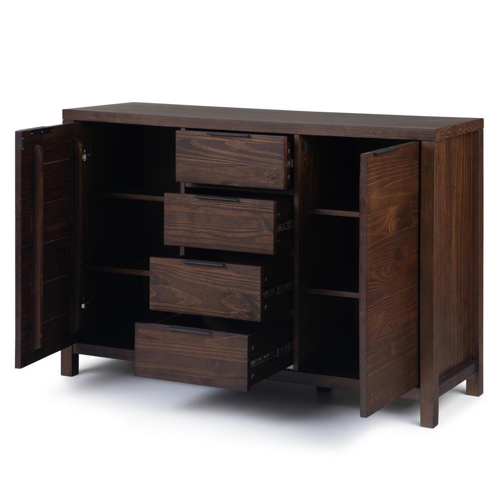 Simpli Home Hollander Solid Wood 54 In (View 18 of 20)