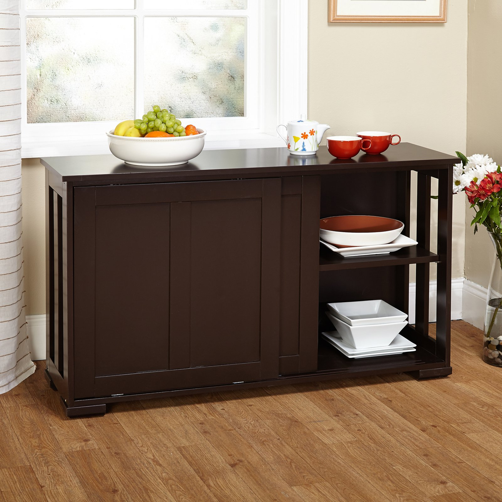 Featured Photo of Contemporary Style Wooden Buffets With Two Side Door Storage Cabinets
