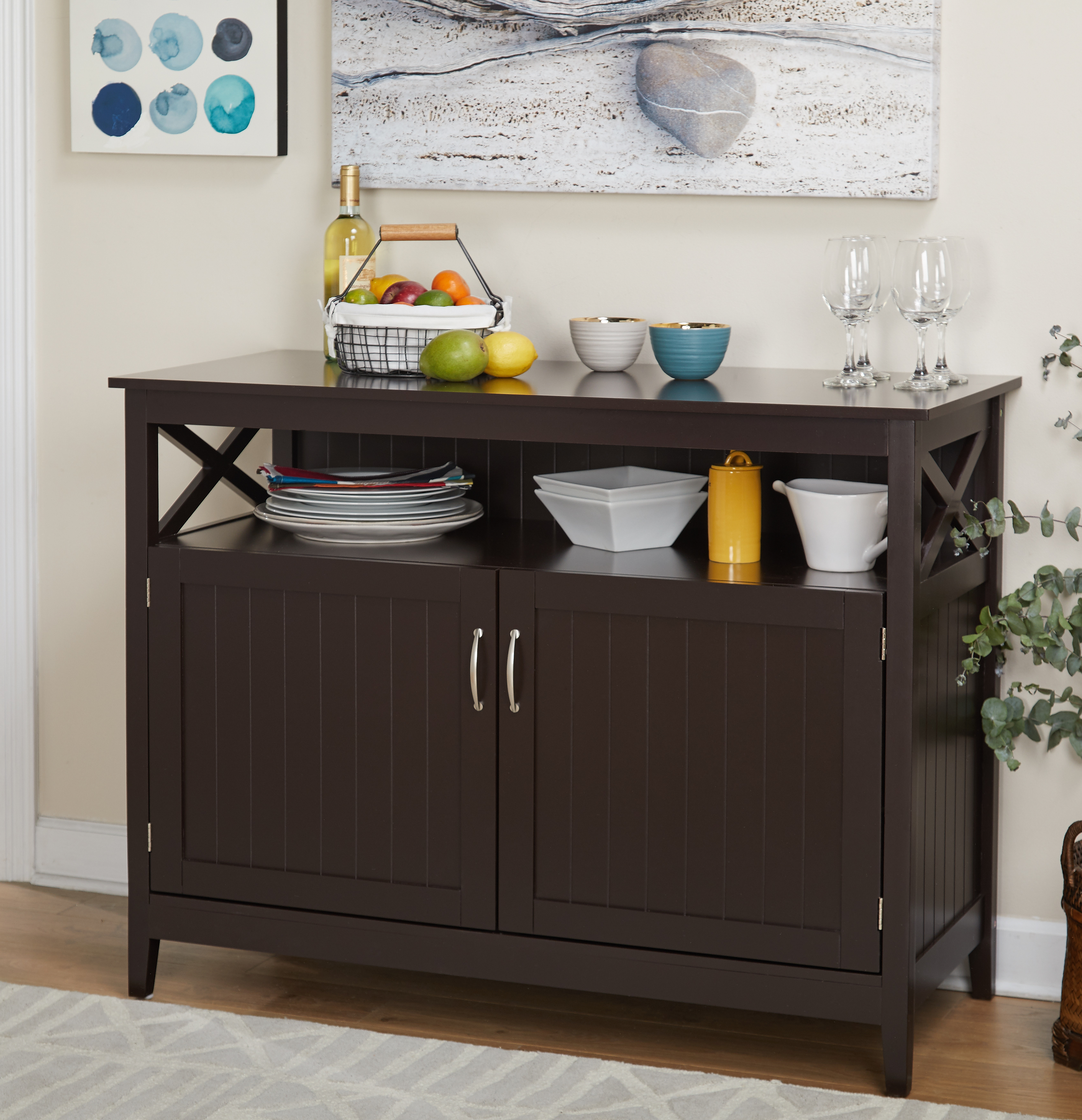 Southport Buffet, Multiple Colors Intended For Multi Shelf Corner Buffets (View 18 of 20)