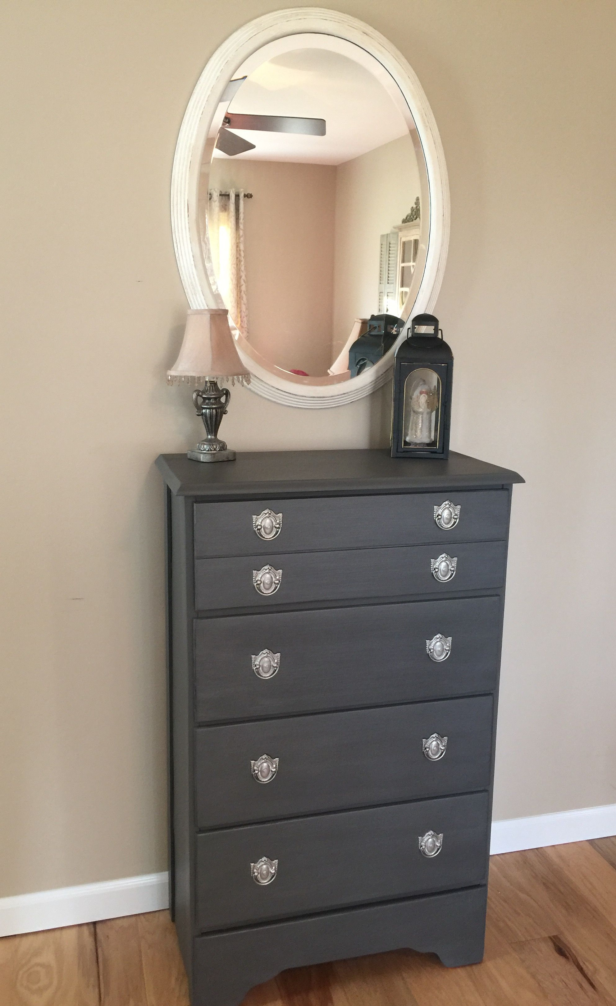 Such A Darling Makeover! This Was Redone In Waverly Elephant Within Elephant Damask Paloma Credenzas (View 20 of 20)