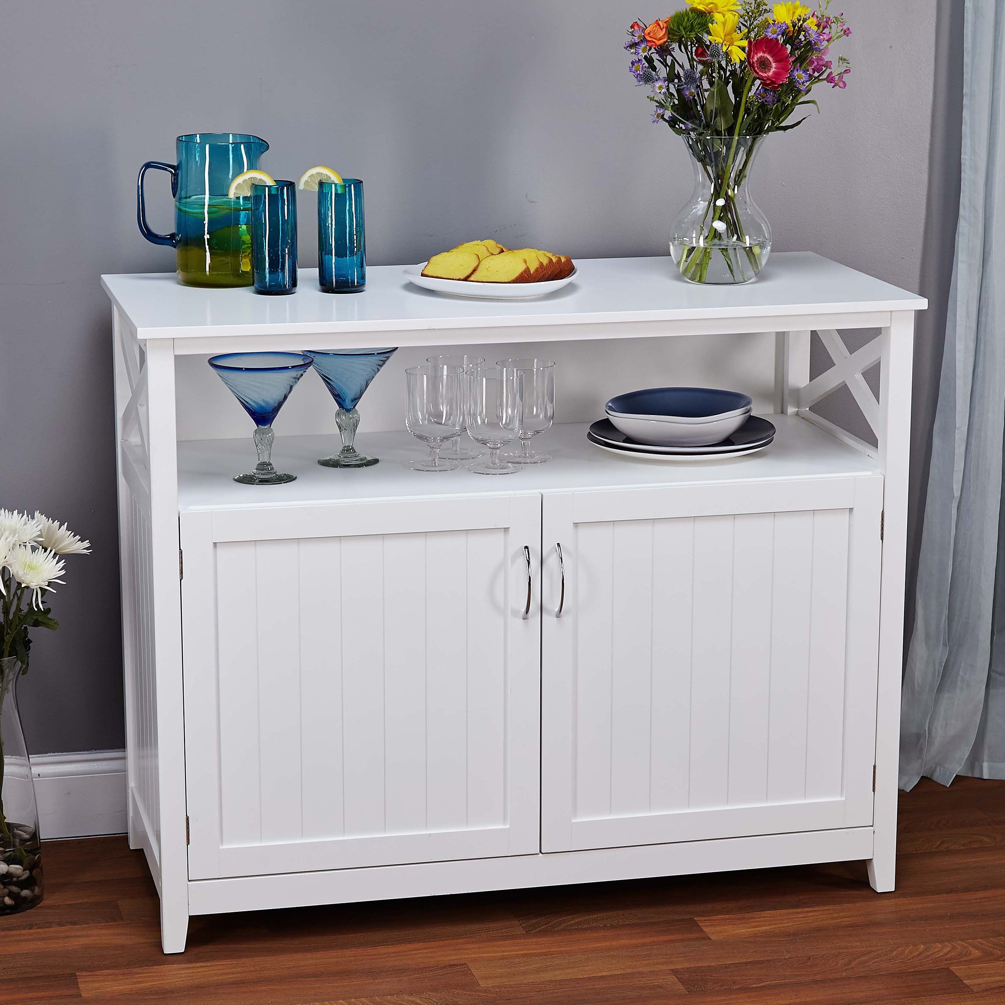Target Marketing Systems Southport Buffet – 83670Wht With Simple Living Southport Dining Buffets (View 19 of 20)