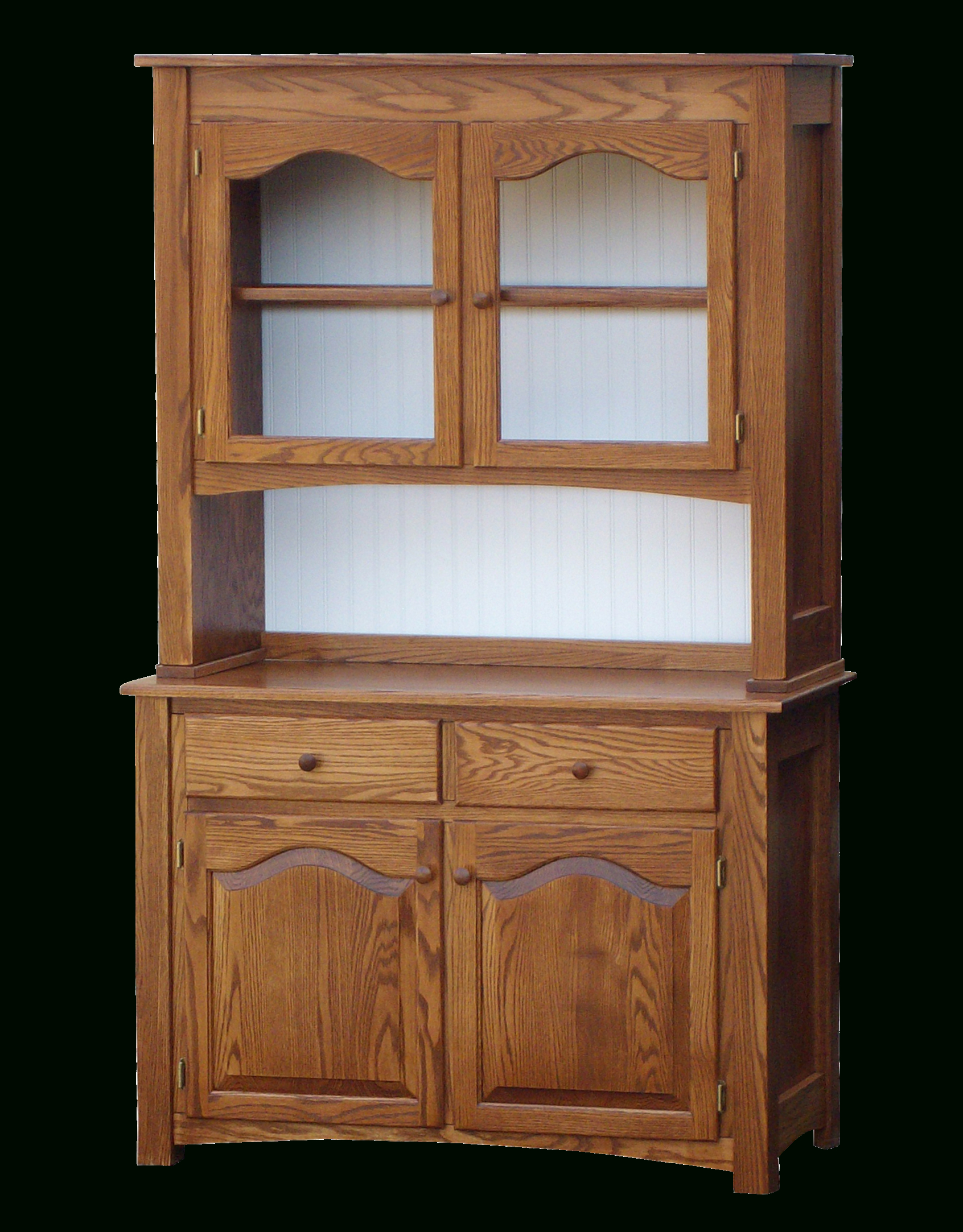 Tarrytown 42'' Raised Panel Hutch & Buffet | Solid Wood With Within White Beadboard Buffets (View 18 of 20)