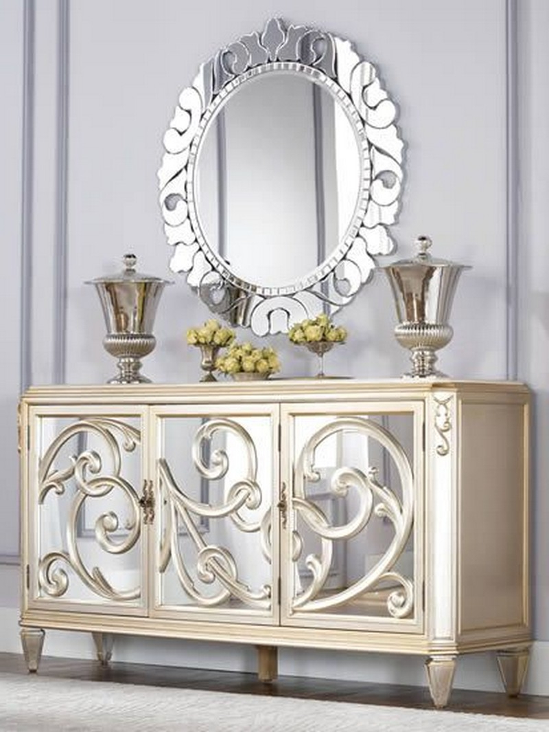 The Best Mirrored Buffets And Sideboards On Pinterest In Mirrored Buffets (View 17 of 20)