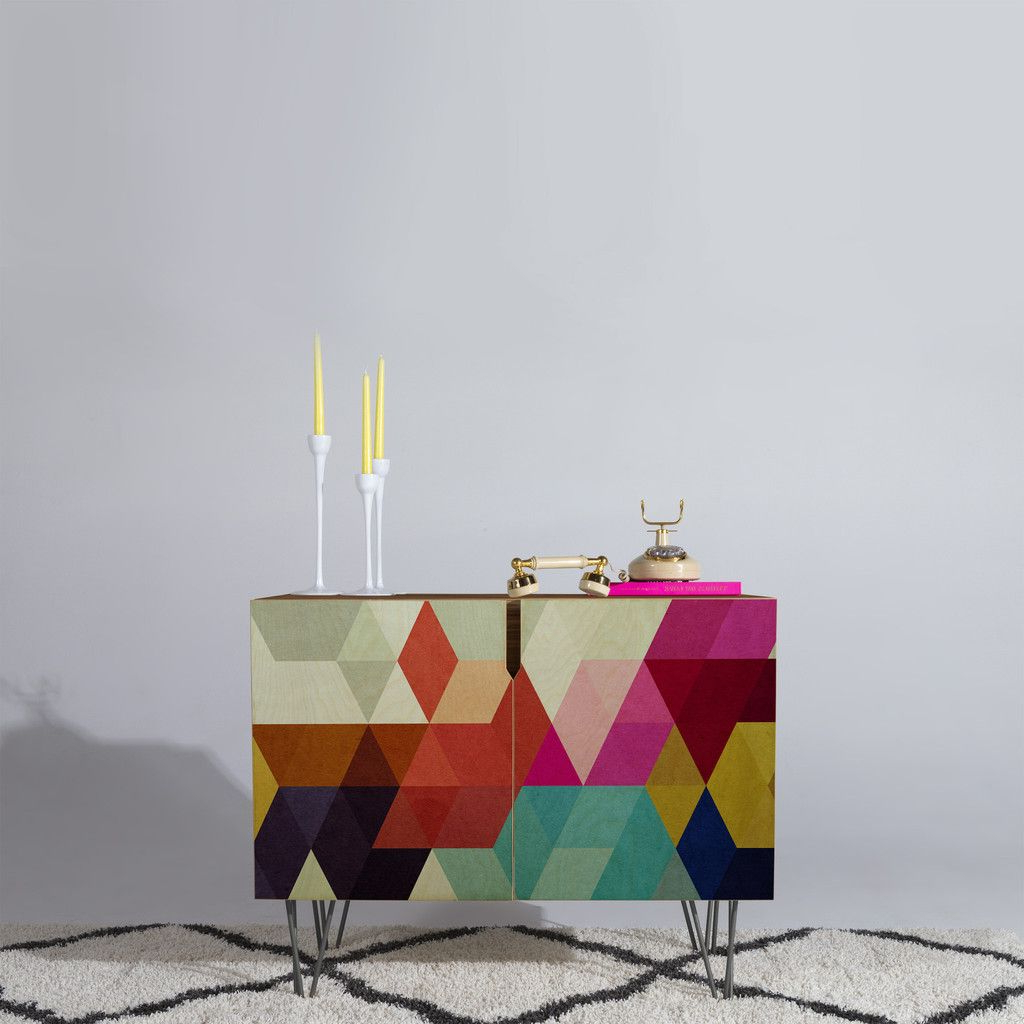Three Of The Possessed Modele 7 Credenza | The Deny Pertaining To Modele 7 Geometric Credenzas (View 19 of 20)