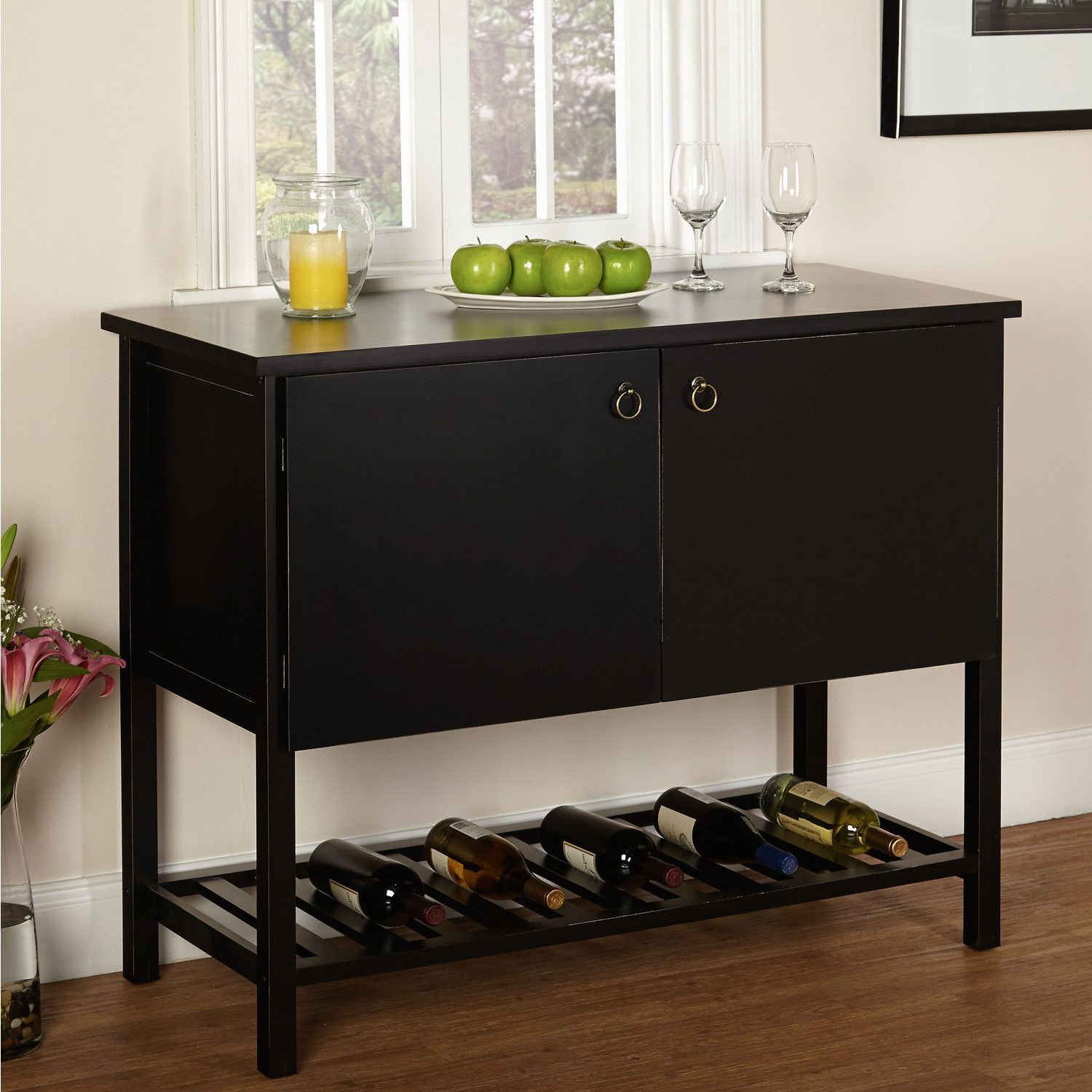 Tms Harvey Buffet | Ljc | Buffet, Wine Shelves, Sideboard Buffet With Regard To Simple Living Montego Two Door Buffets (View 8 of 20)