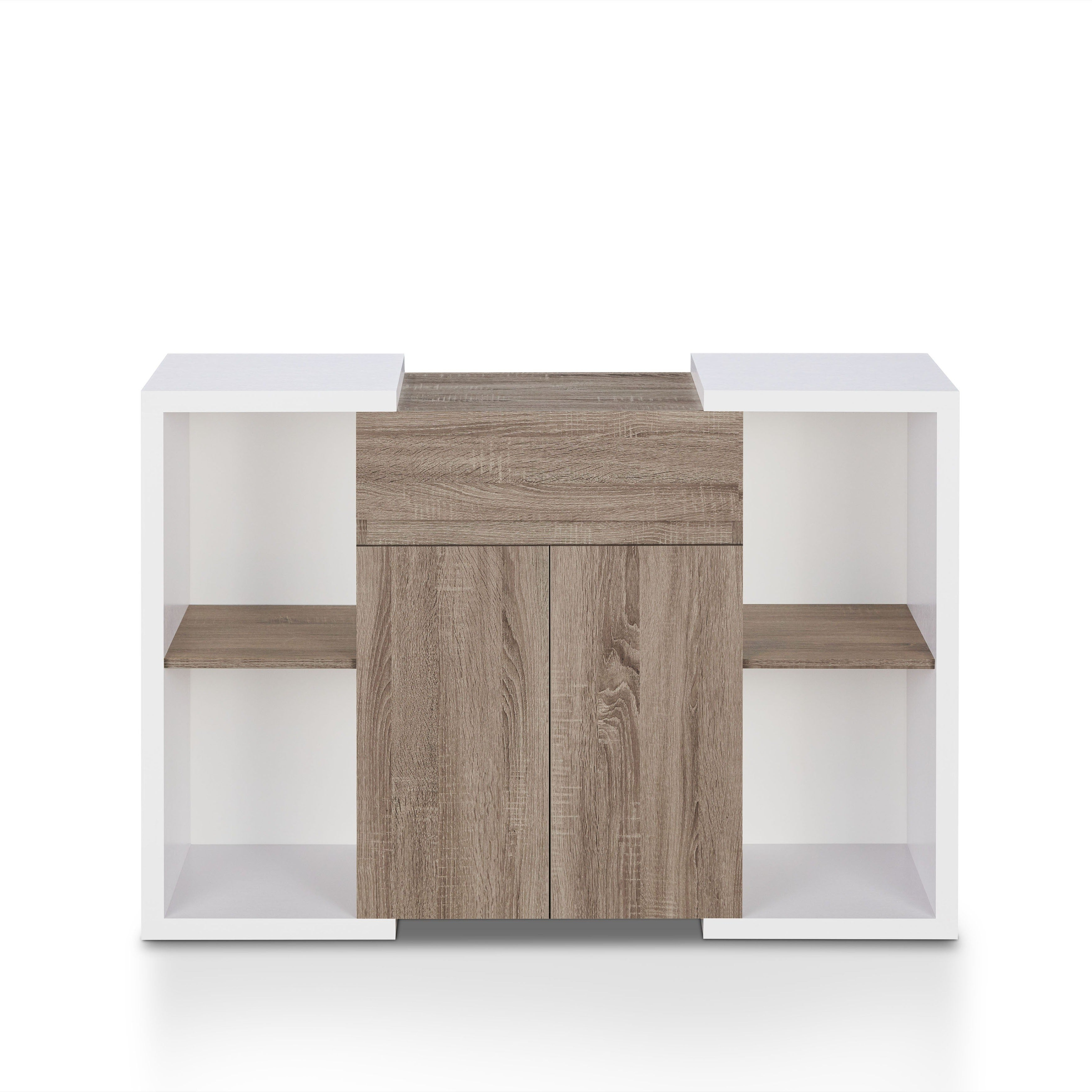 Togal Contemporary White/light Oak Dining Buffetfoa Regarding Togal Contemporary White/light Oak Dining Buffets (View 15 of 20)