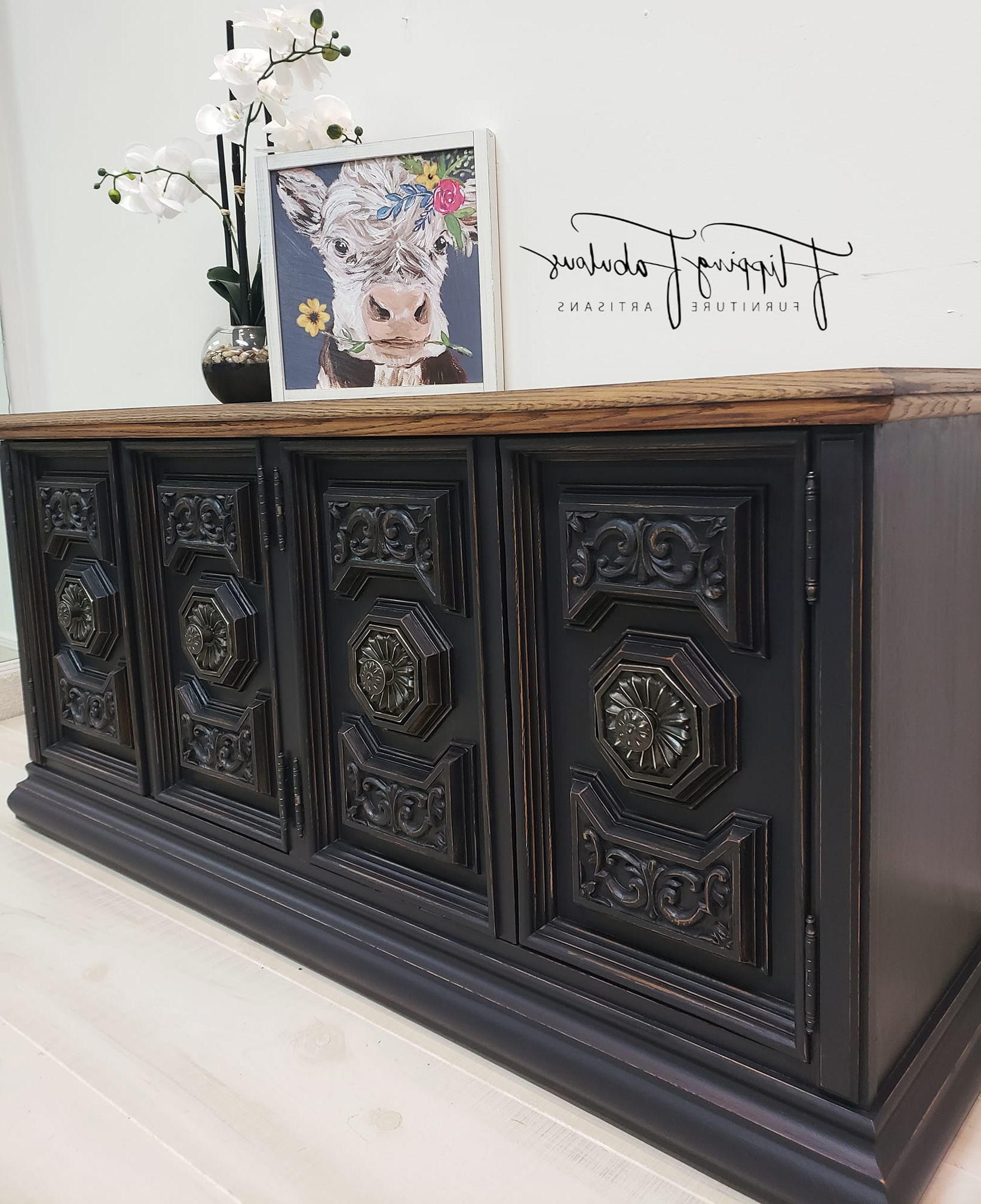 Twilight Buffet | General Finishes Design Center Throughout Cappuccino Finished Buffets (View 18 of 20)