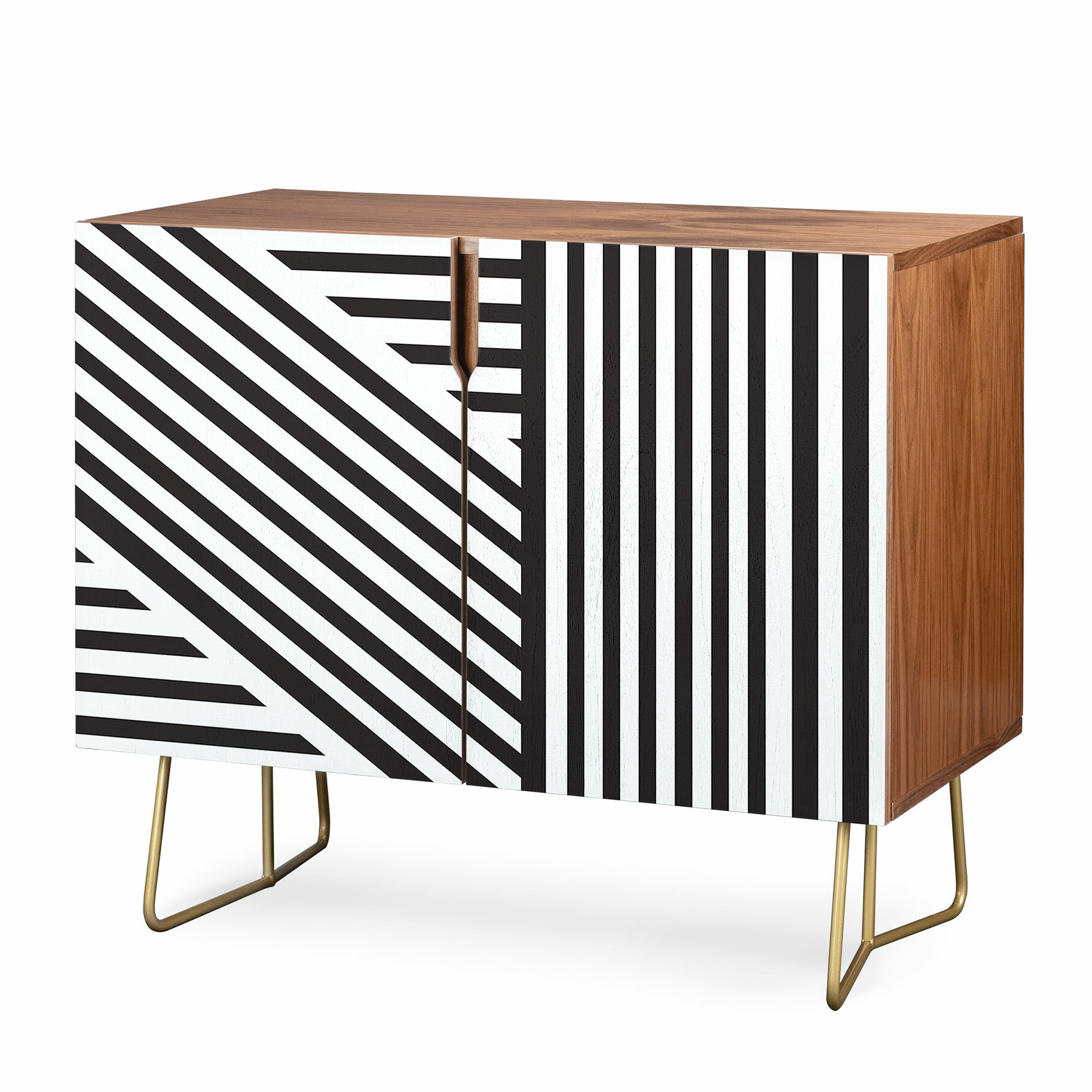 Vy La Everything Nice Credenza Throughout Multi Stripe Credenzas (Gallery 9 of 20)