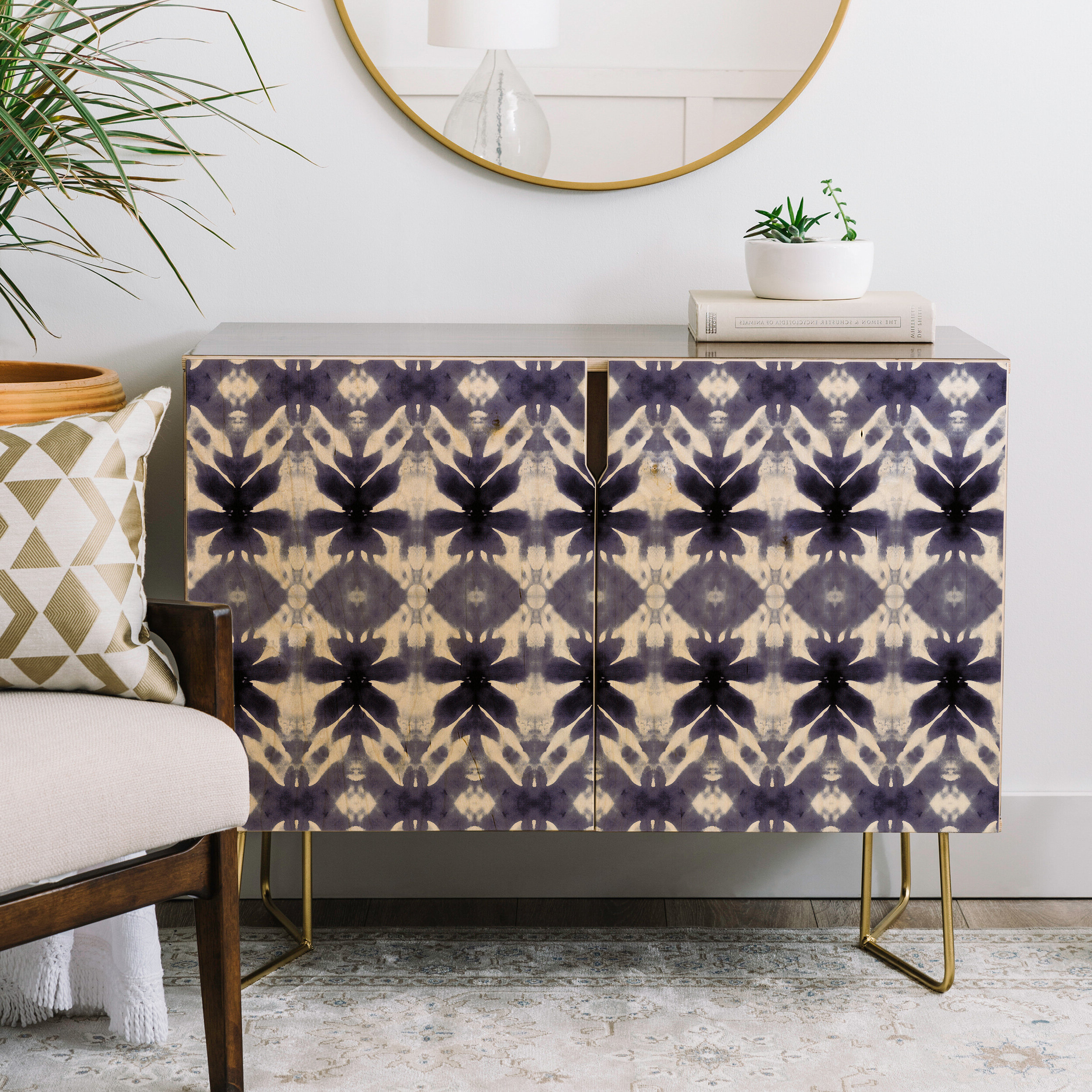Wagner Campelo Shibori Tribal Credenza With Neon Bloom Credenzas (View 20 of 20)