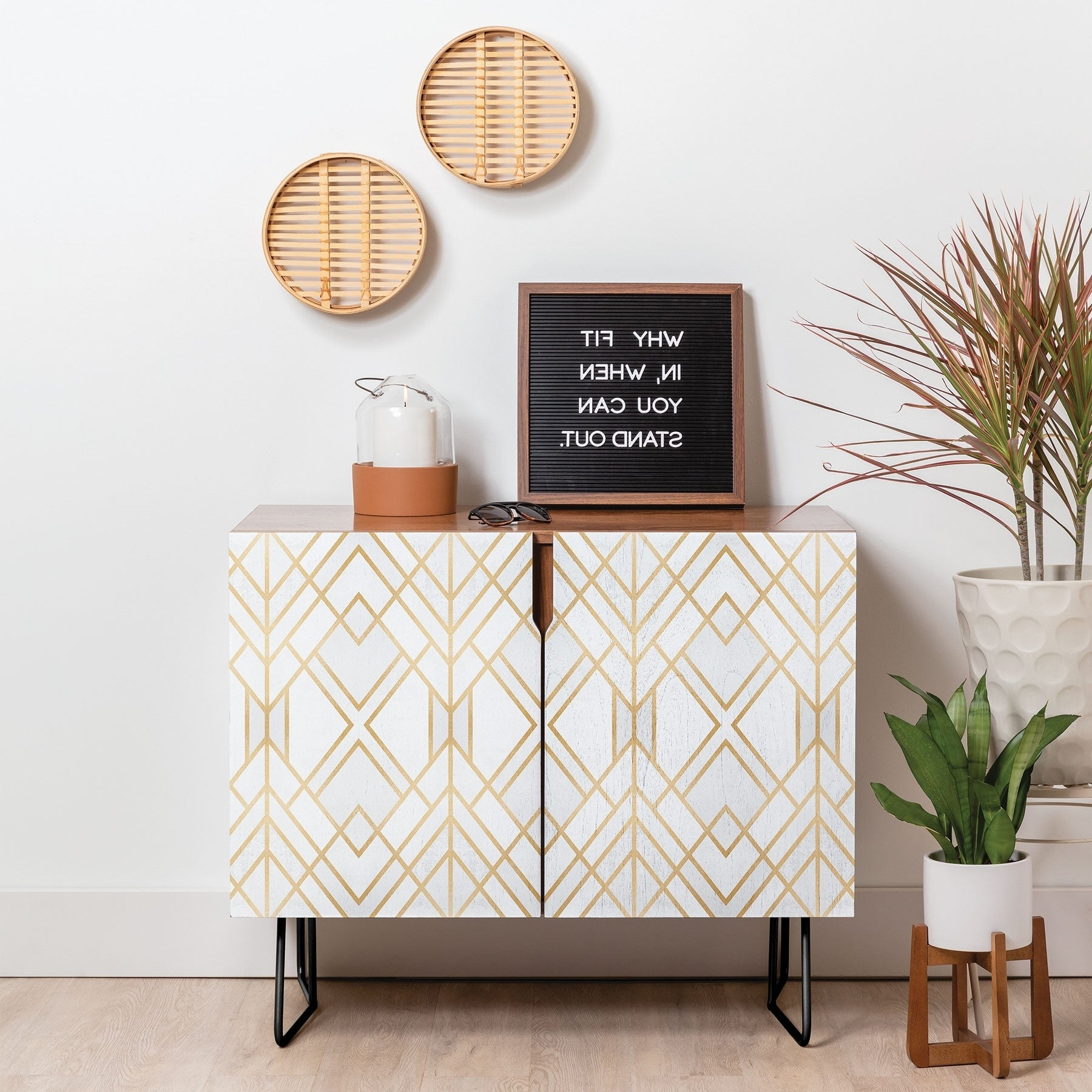White, Birch Furniture | Shop Our Best Home Goods Deals With Carson Carrington Bogard Crane Credenzas (View 19 of 20)