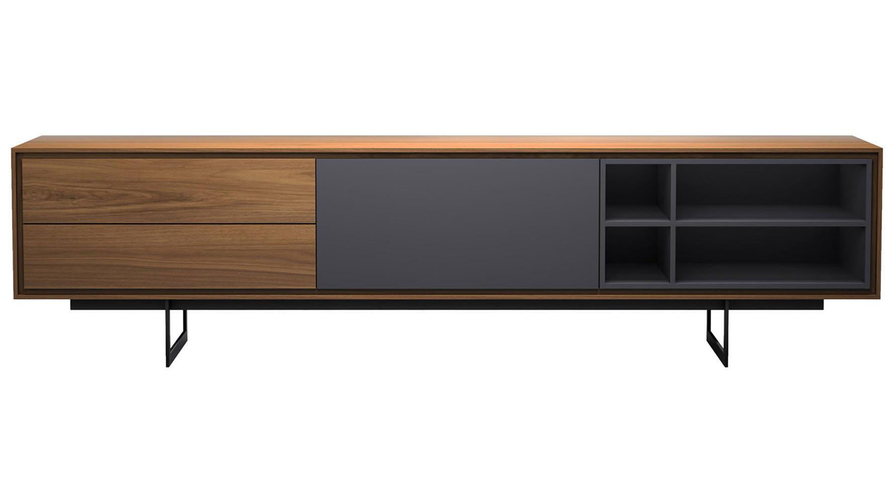 Wright Media Cabinet With Festival Eclipse Credenzas (View 19 of 20)