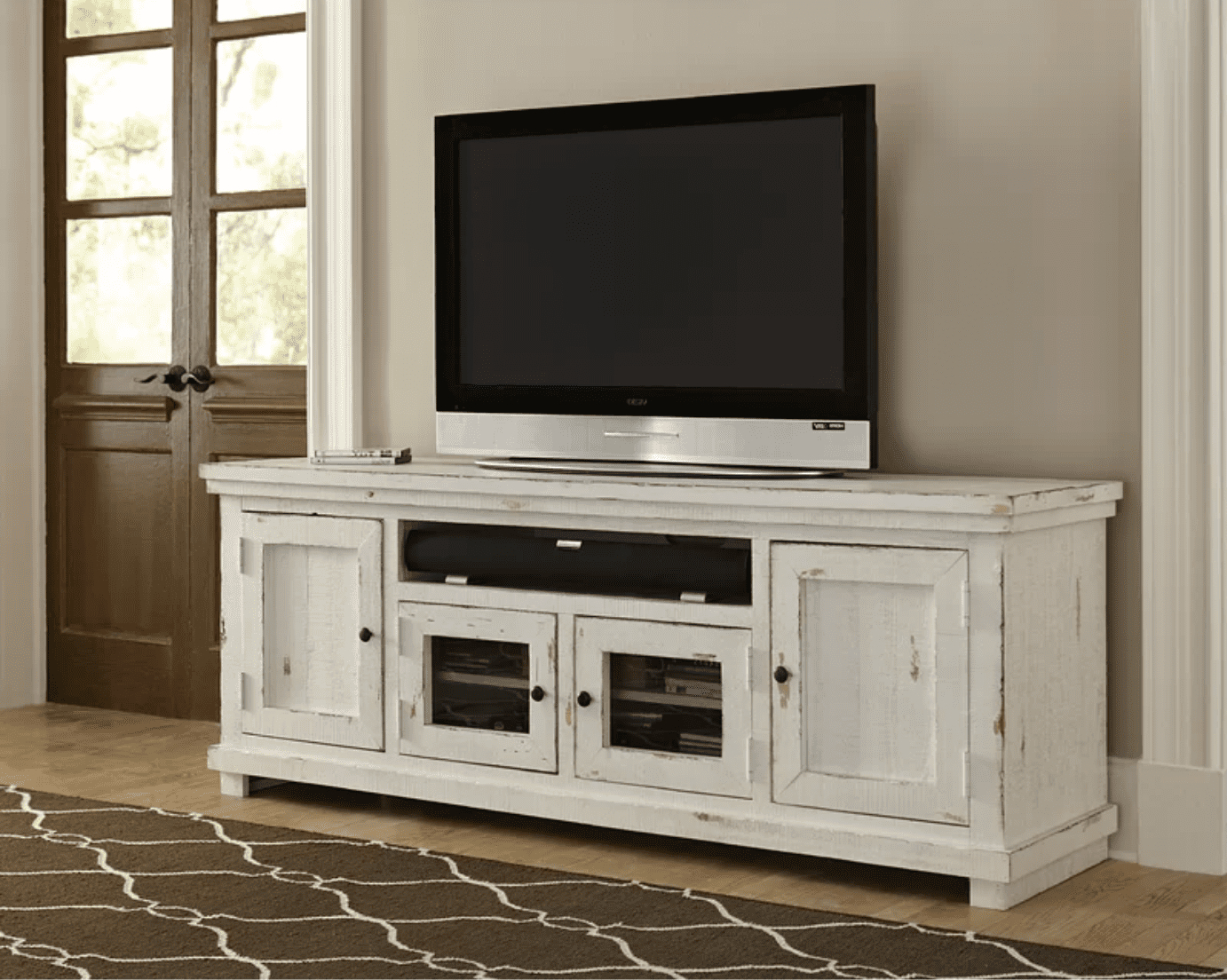 The 8 Best Tv Stands Of 2020 Regarding Eutropios Tv Stand With Electric Fireplace Included (View 7 of 20)