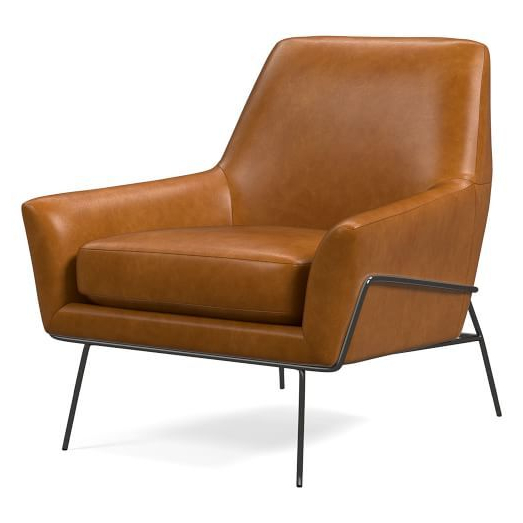 100+ Accent Chairs Ideas   Accent Chairs, Chair, Furniture For Broadus Genuine Leather Suede Side Chairs (View 10 of 20)