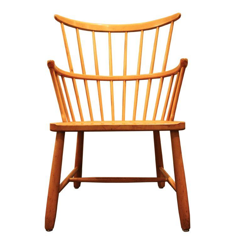 1940s Windsor Chairole Borst | 20th C Furniture Design Regarding Borst Armchairs (View 18 of 20)