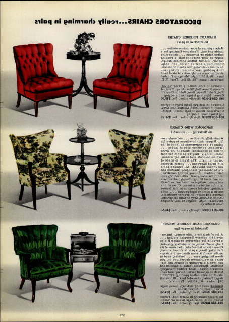 1954 Paper Ad 3 Pg Vikon Chairs Chair Furniture Mid Century Pertaining To Ronda Barrel Chairs (View 19 of 20)