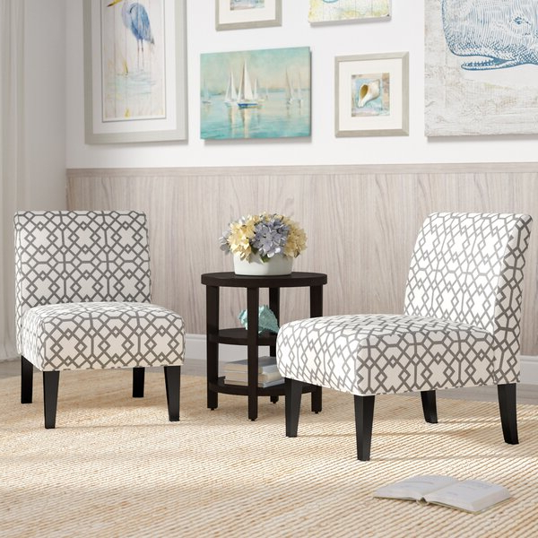 2 Accent Chairs For Alush Accent Slipper Chairs (set Of 2) (View 2 of 20)