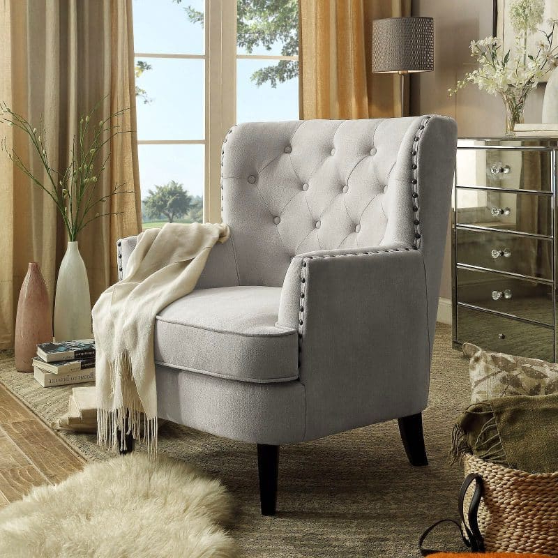21 Top Wingback Chair List | Décor Outline In Saige Wingback Chairs (View 20 of 20)
