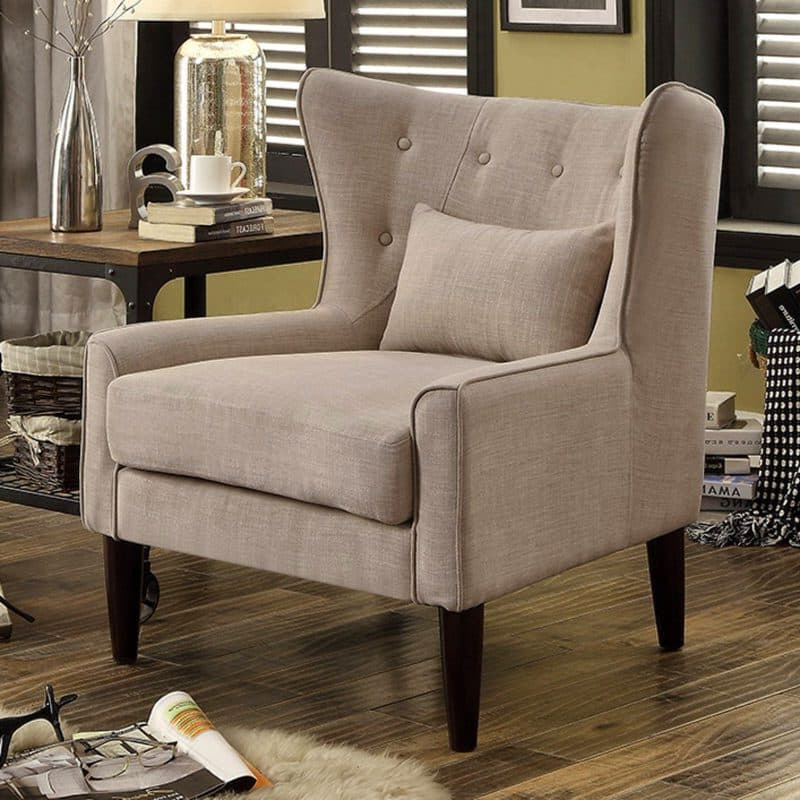 21 Top Wingback Chair List | Décor Outline Throughout Saige Wingback Chairs (View 10 of 20)