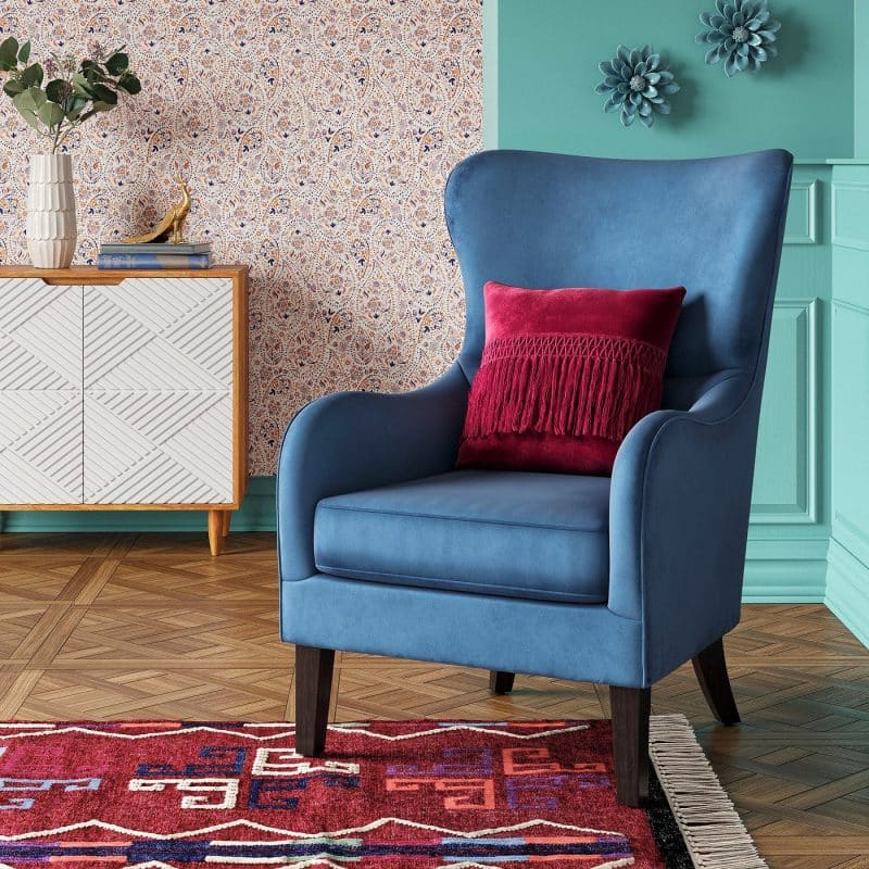 21 Top Wingback Chair List | Décor Outline With Saige Wingback Chairs (View 15 of 20)