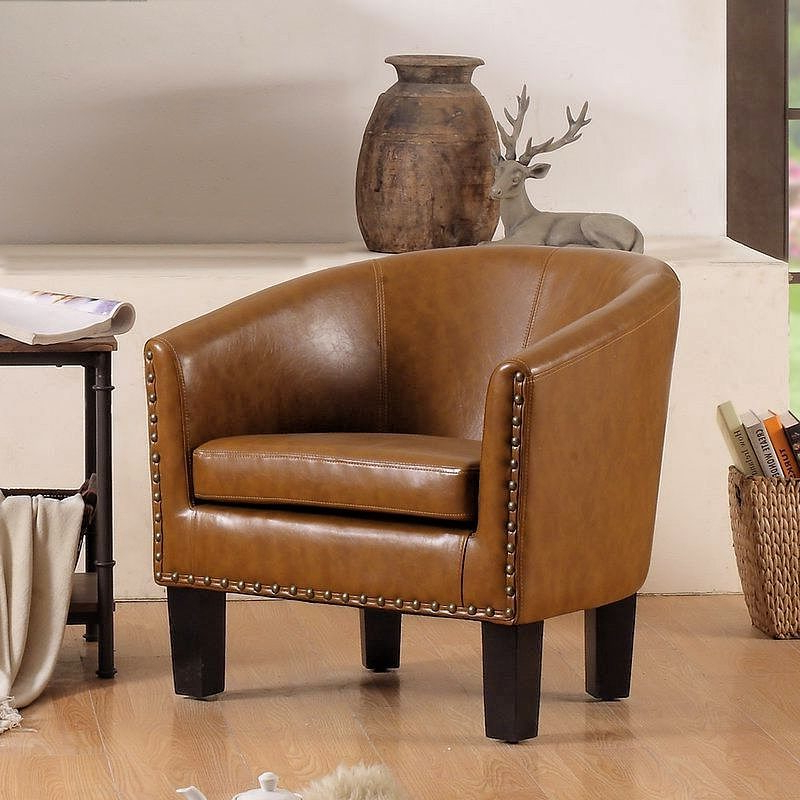 27 Best Barrel Chair Ideas [space Saving & Easy To Move For Liam Faux Leather Barrel Chairs (View 12 of 20)