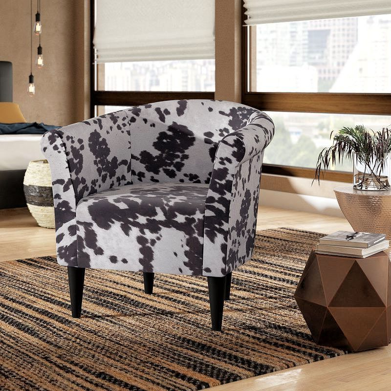 27 Best Barrel Chair Ideas [space Saving & Easy To Move Within Liam Faux Leather Barrel Chairs (View 18 of 20)