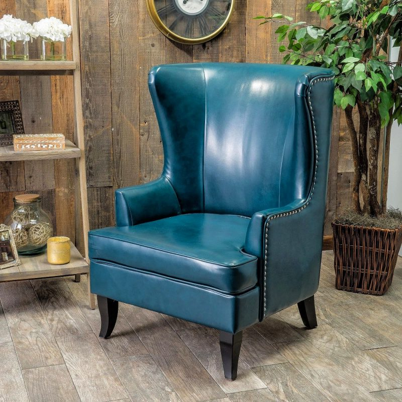 27 Best Wingback Accent Chair Ideas   Décor Outline With Allis Tufted Polyester Blend Wingback Chairs (View 19 of 20)