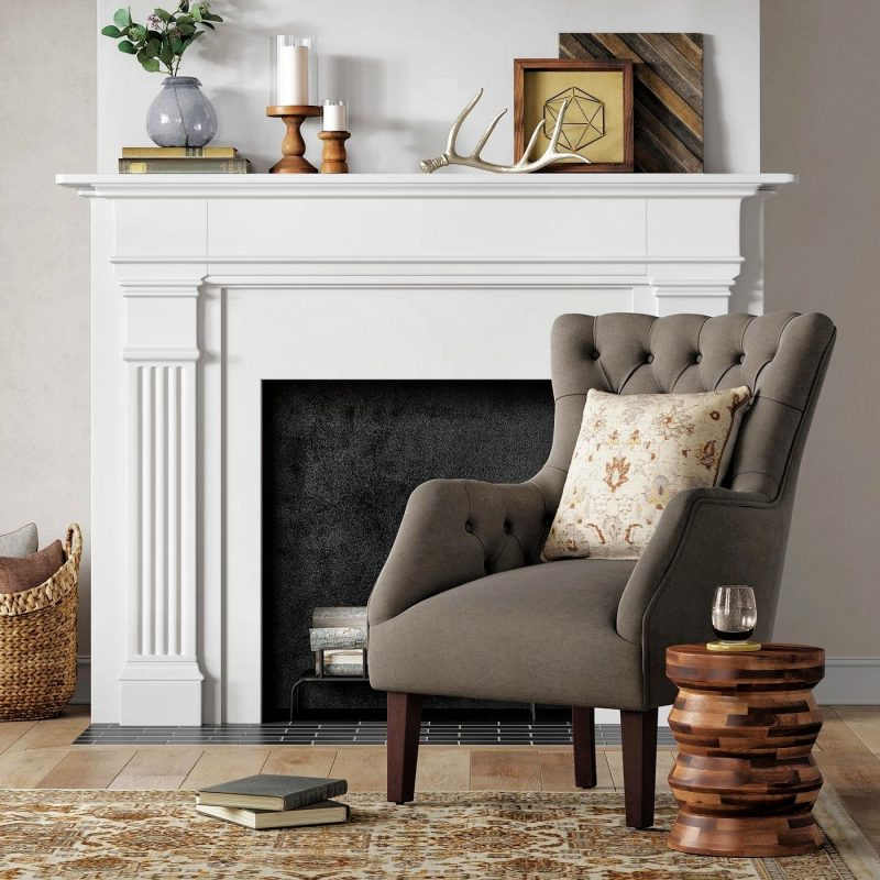 27 Best Wingback Accent Chair Ideas   Décor Outline With Allis Tufted Polyester Blend Wingback Chairs (View 13 of 20)
