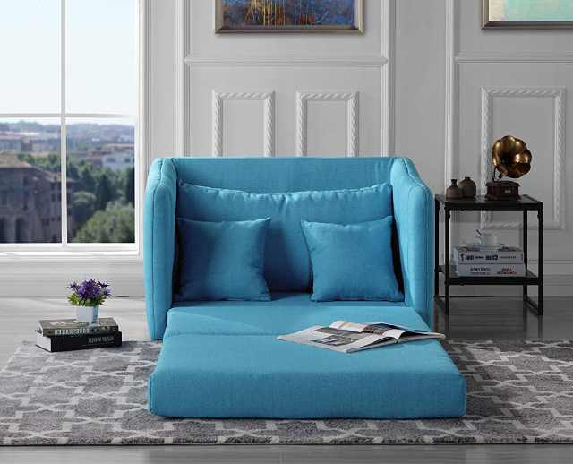 28 Best Sleeper Chairs For Small Spaces – Vurni In Bolen Convertible Chairs (View 9 of 20)