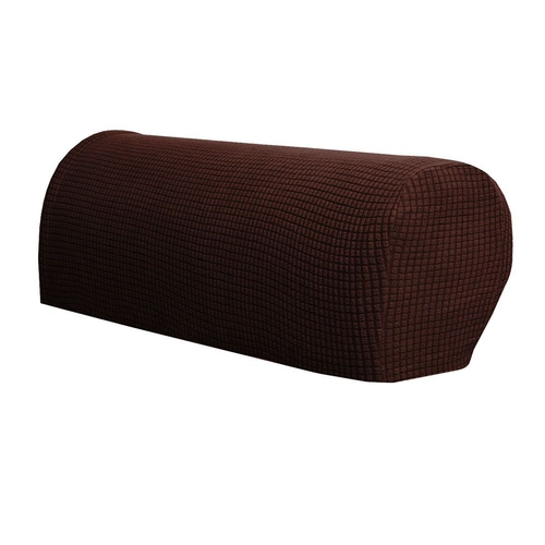 2pcs Polyester Armrest Cover Elastic Couch Sofa Recliner Armchair Protector Soft For Leia Polyester Armchairs (View 14 of 20)