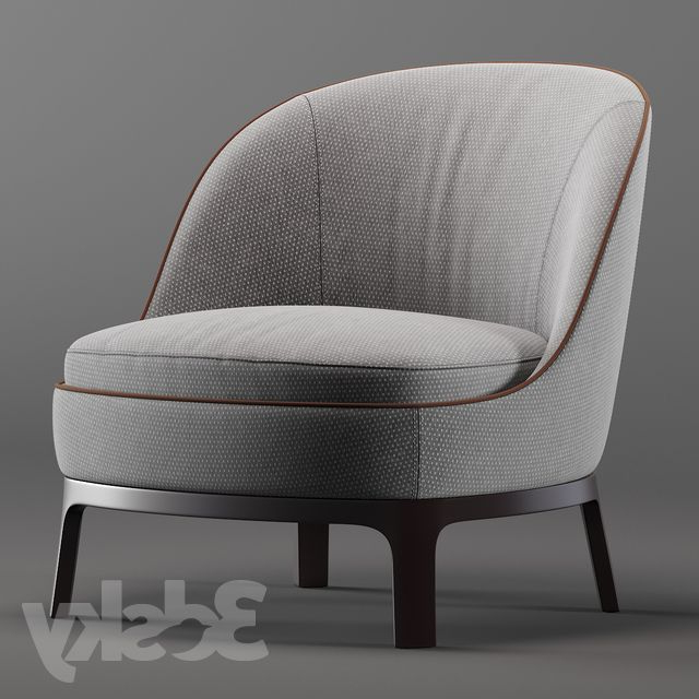 3d Models: Arm Chair – Dragonfly | Armchair | Armchair Regarding Haleigh Armchairs (View 19 of 20)