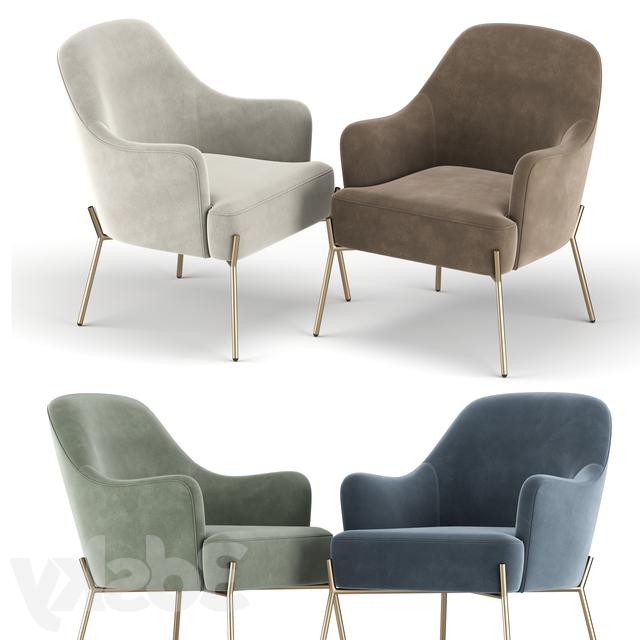 3d Models: Arm Chair – Erastus Armchair With Erastus Armchairs (View 16 of 20)