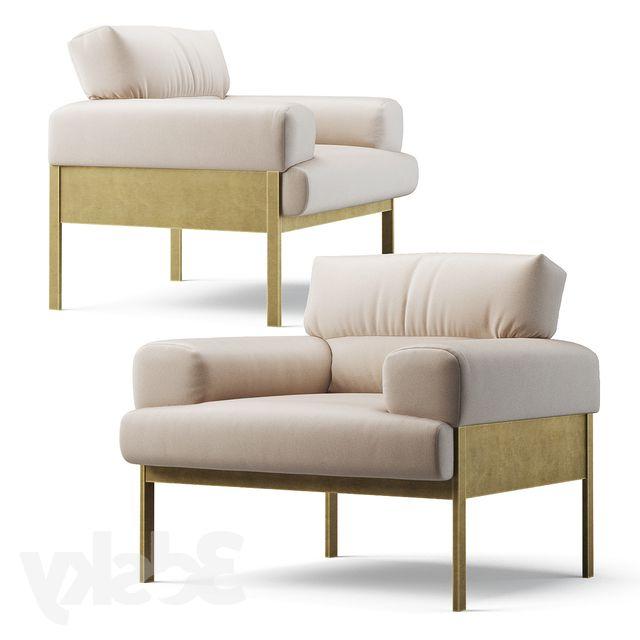3d Models: Arm Chair – Suki Armchair   Armchair, Furniture Inside Suki Armchairs (View 2 of 20)
