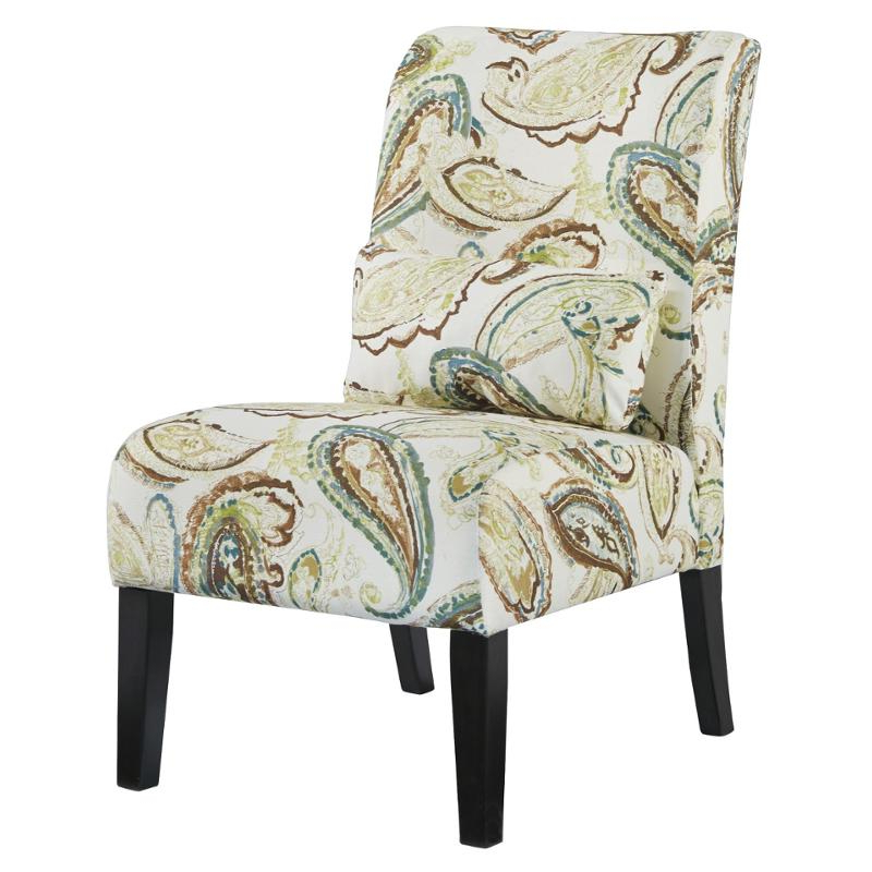6160660 Ashley Furniture Annora – Paisley Accent Chair For Goodyear Slipper Chairs (View 16 of 20)