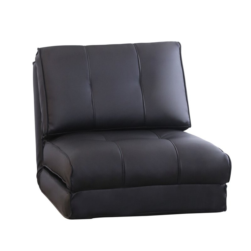 8 Best Sleeper Chairs Regarding Onderdonk Faux Leather Convertible Chairs (View 8 of 20)