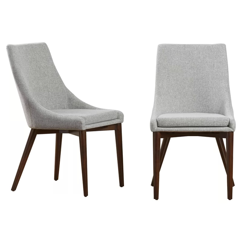 Aaliyah Upholstered Dining Chair & Reviews | Allmodern Within Aaliyah Parsons Chairs (View 4 of 20)