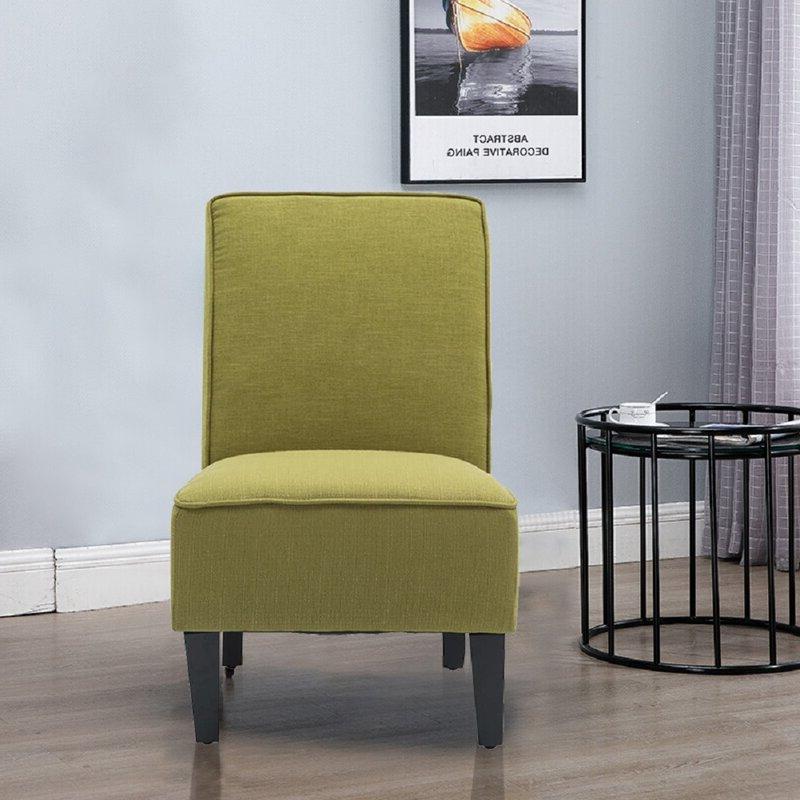 Aaliyaha Upholstered Slipper Chair Inside Aniruddha Slipper Chairs (View 11 of 20)