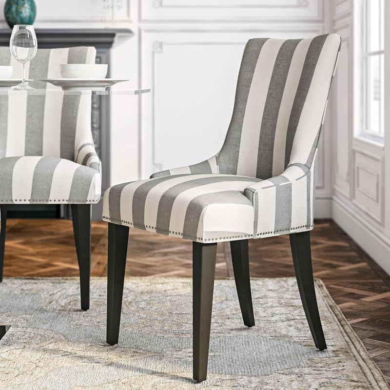 Abby Parsons Chair With Madison Avenue Tufted Cotton Upholstered Dining Chairs (set Of 2) (View 6 of 20)