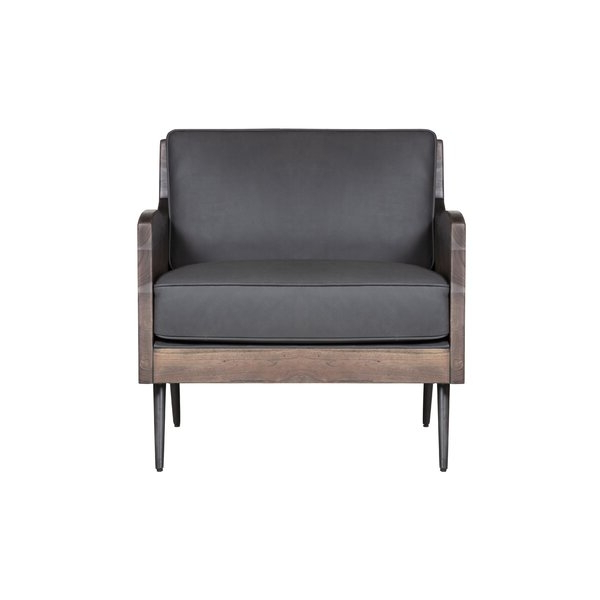 Abbyson Living Leather Chair Pertaining To Brookhhurst Avina Armchairs (View 17 of 20)