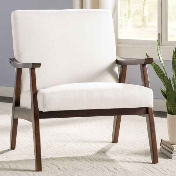 Accent Chairs With Wooden Arms Pertaining To Dallin Arm Chairs (View 9 of 20)