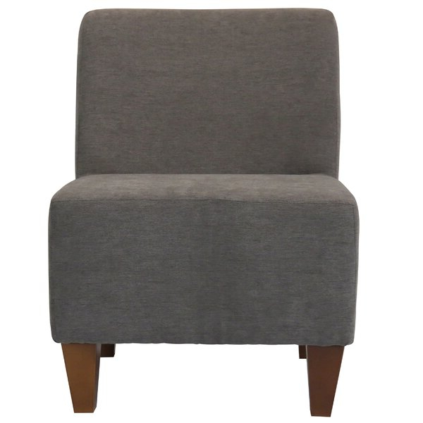 Accent Gray Chairs | Wayfair For Wadhurst Slipper Chairs (View 7 of 20)