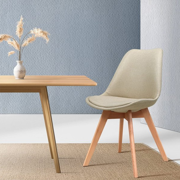 Aime Dining Chair (set Of 2) Pertaining To Aime Upholstered Parsons Chairs In Beige (View 13 of 20)